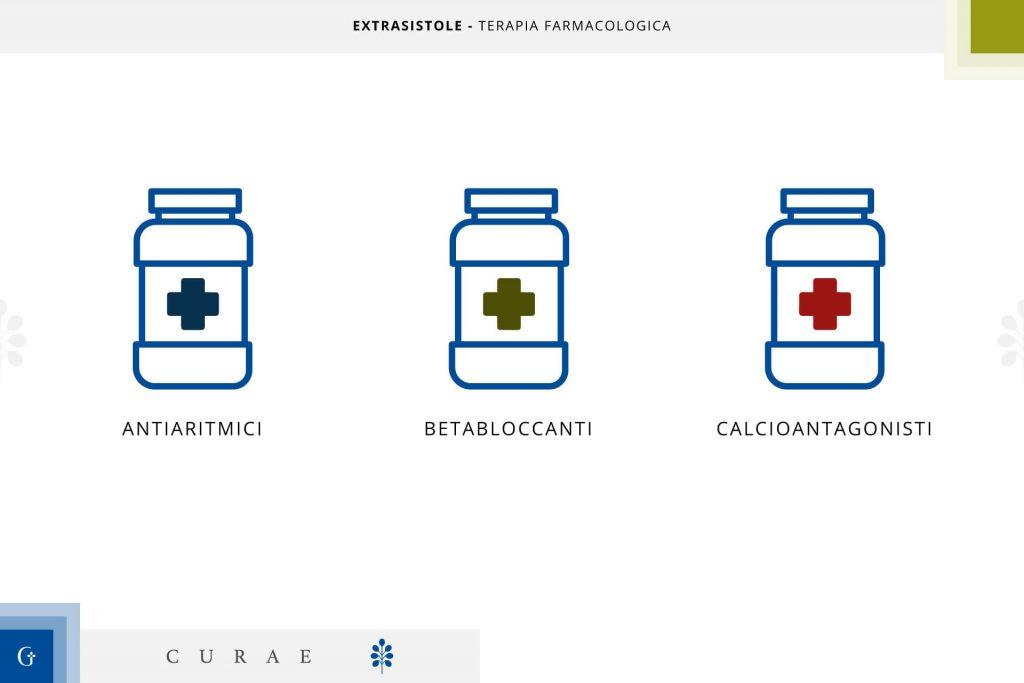 extrasistoli terapia farmacologica